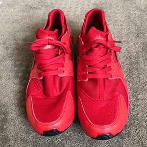 Other - Red Casual Tennis Shoes Sneakers Size 9.5
